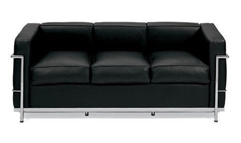 Le Corbusier Petite Three Seat Sofa (LC2) Furniture