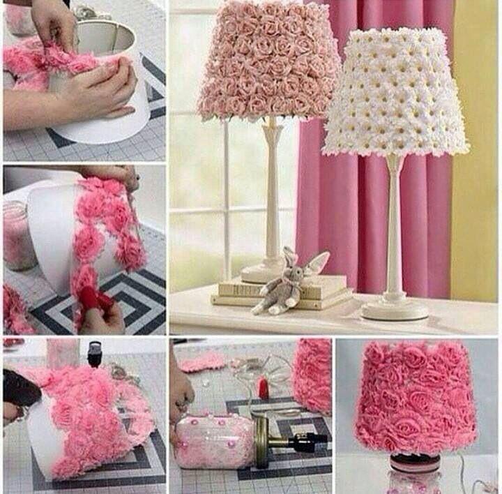 Aprende a hacer una lámpara para tu cuarto fácil