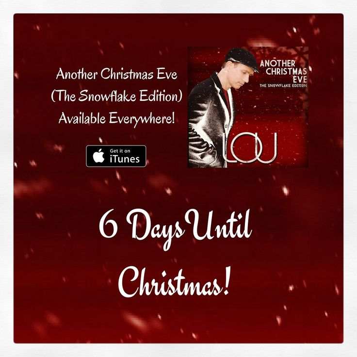 6 More Days Until ChristmasI can't wait  Who's excited? Still time to download or stream my holiday album http://smarturl.it/snowflakeedition #christmas #music #family #friends #home #traditions #food #celebration #travel #art #fashion #piano #records #holidays #holiday #vacation #memories #xmas #merrychristmas #happyholidays #decoration #snow #winter #christmasgift #christmastime #special #love #fun #festive #shopping