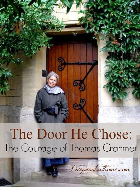 The Door He Chose: Thomas Cranmer