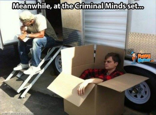 Because sometimes only a box will do #MatthewGrayGubler #CriminalMinds