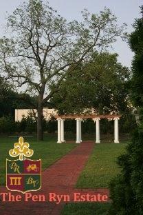 The Ceremony Pergola At Belle Voir Manor Pen Ryn Estate 2156330600