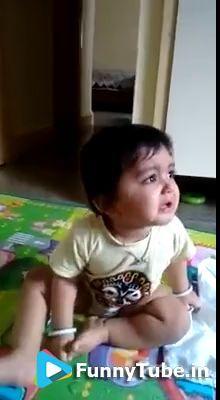 Funny Kid Wants Krishna Bhajan - https://funnytube.in/funny-kid-wants-krishna-bhajan/