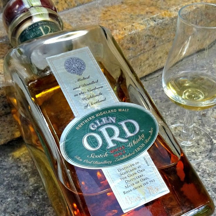 Glen Ord 12 yo - suprisingly complex old fashioned bottling from Glen Ord distillery. Unfortunately now discontinued.