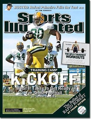 August 8, 2005 Ahman Green Green Bay Packers Sports Illustrated 1