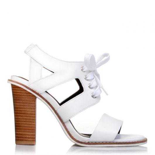 CALIGULA lace up sandals. #jomercershoes #shopnow #ss15 #heels