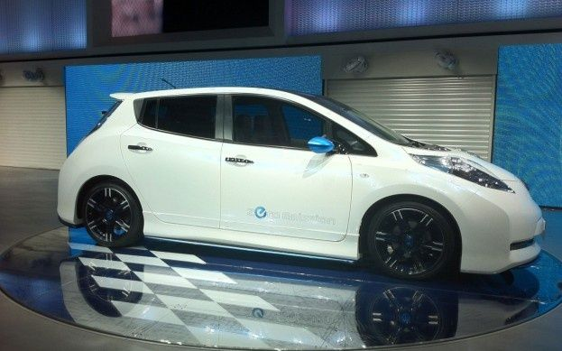 Cool Nissan 2017: The Nissan Leaf - Nismo... 2012 LA Auto Show Photos Check more at http://carboard.pro/Cars-Gallery/2017/nissan-2017-the-nissan-leaf-nismo-2012-la-auto-show-photos/