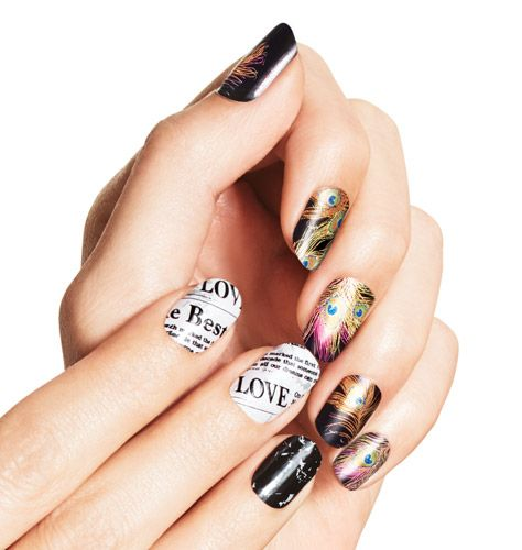 Try our NEW Limited Edition Nail Art Design Strips for fall!