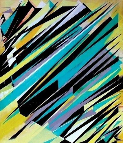 Jaime Gili. a58 (lucia) 2006 - acrylic on canvas - 268 x 230 cm