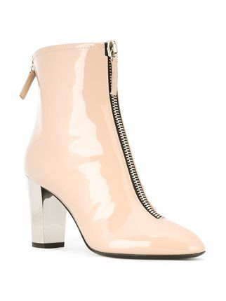 Giuseppe Zanotti Design varnished zipped ankle boots