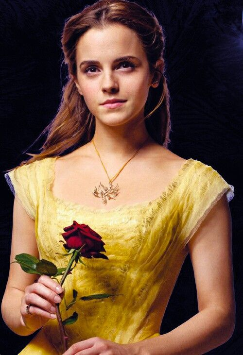 Emma Watson as Belle in Disney's upcoming Beauty and the Beast