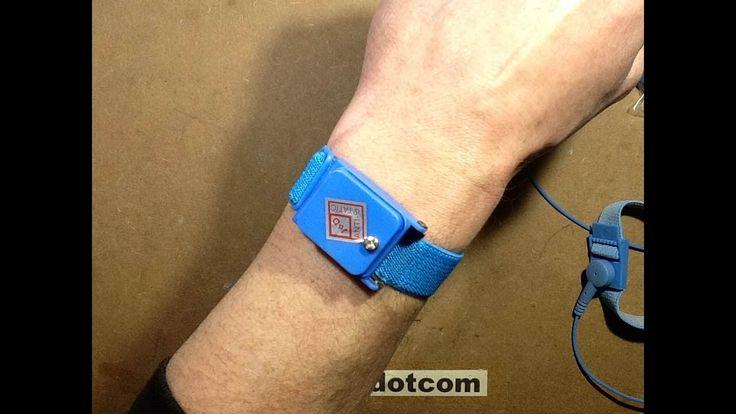 Cordless antistatic wrist straps?