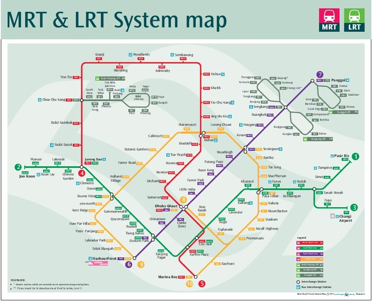 mrtsg Singapore travel, Singapore public transport