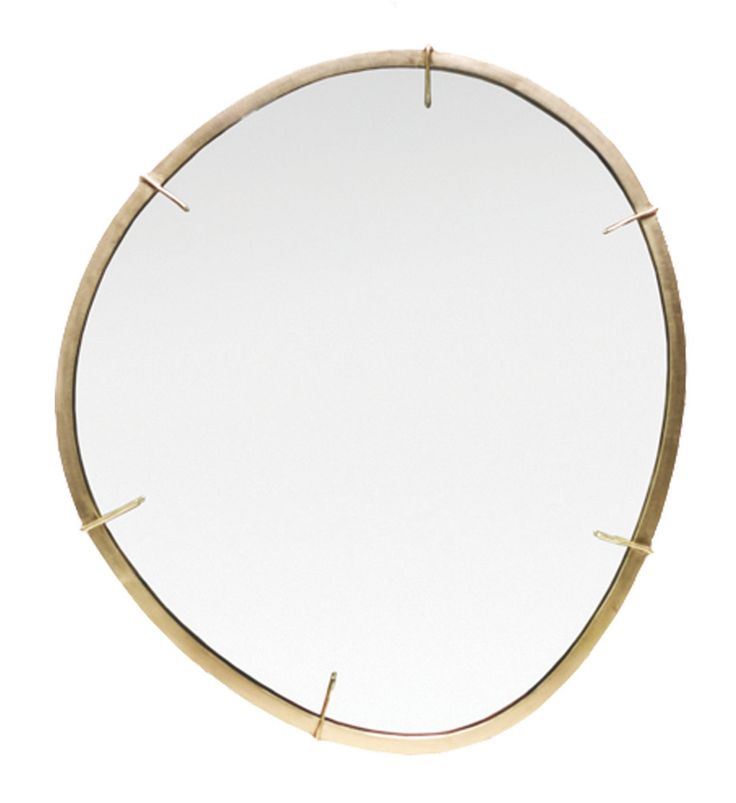 Buy AGATE Mirror by Aura - Made-to-Order designer Accessories from Dering Hall's collection of Contemporary Mirrors
