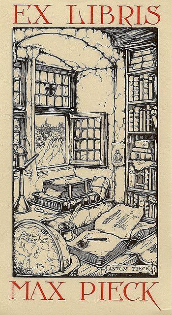Ex libris, Anton Pieck