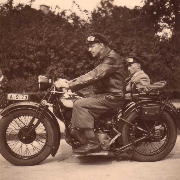 altes Motorrad NSU 501 1933   – motorcycles of the …1930s-1940s…