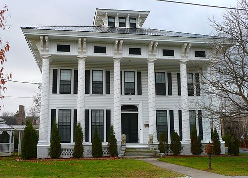Great example Federal meets Victorian = Italianate.