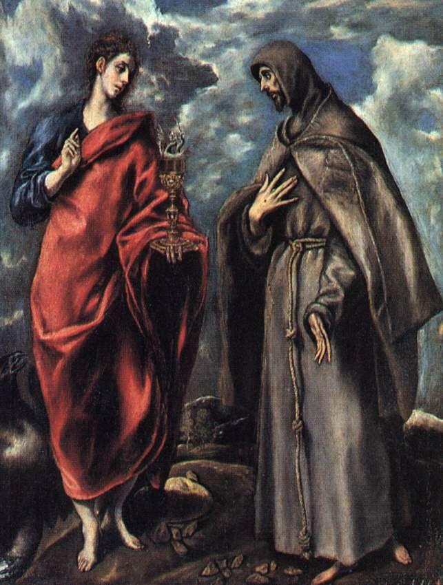 San_Juan_Evangelista_y_San_Francisco_El_Greco.jpg (643×850)