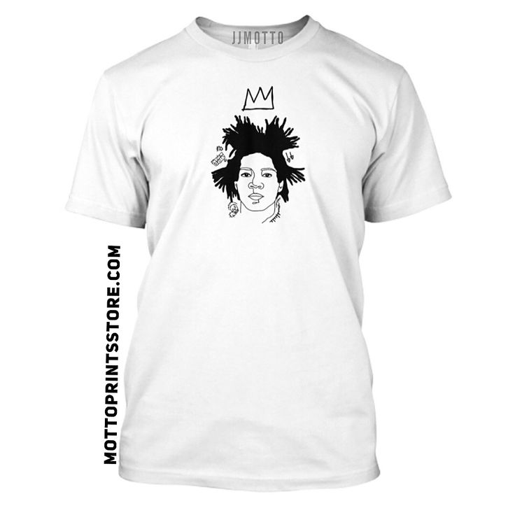 JJmotto art clothing. Basquiat.