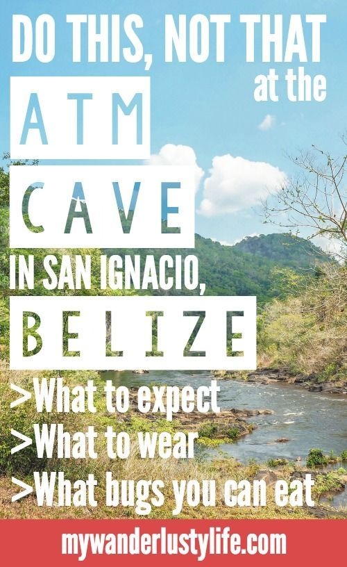 ATM Cave | San Ignacio, Belize | Actun Tunichil Muknal | Cayo District | Maya Mayan archaeological site | ruins skeletons remains spiders | Do This, Not That | Travel tips | Dos and don'ts | cenote | what to wear | Central America
