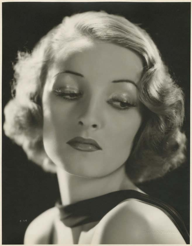 Gwili Andre (1908-1959) was a Danish actress who had a brief career in Hollywood films.  Killed herself by lighting clippings of her self & setting them on fire, then throwing herself on it.