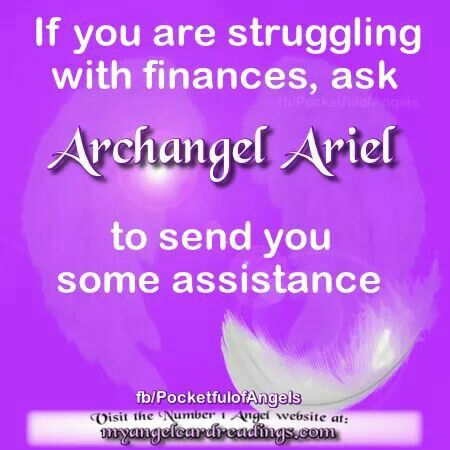 Dear Angel Ariel please help & assist me with my Financial needs now & forever amen  thank you