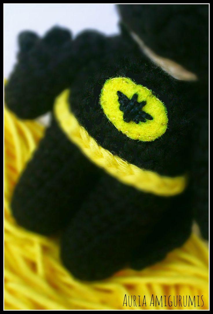 Batman!!! El caballero oscuro hecho llavero
