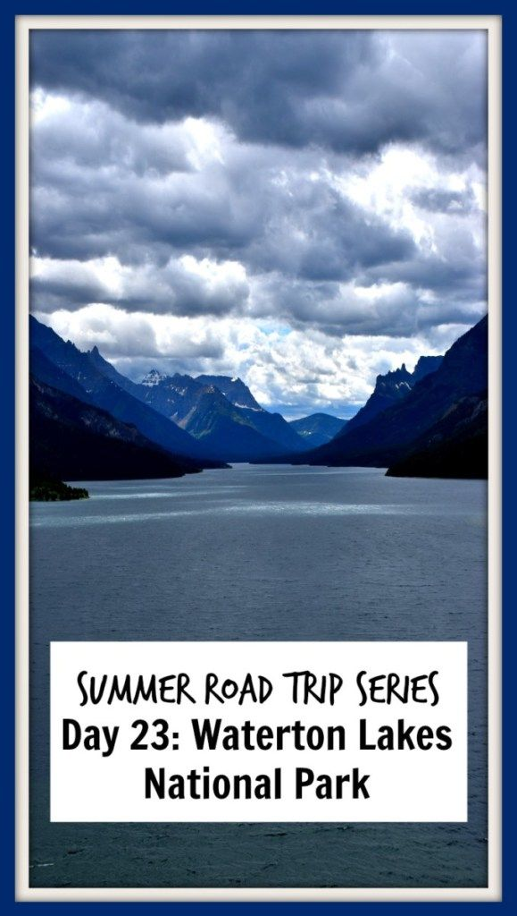Shoukd you take a side trip to Waterton Lakes National Park from Glacier National Park? Find out the best tips here if you do!