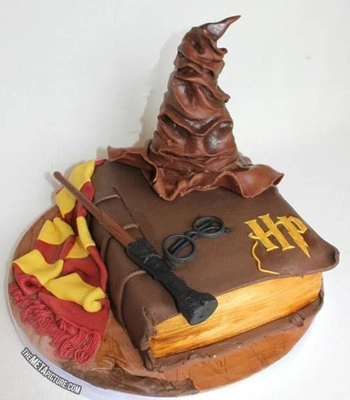 A cake for a true harry potter fan :)