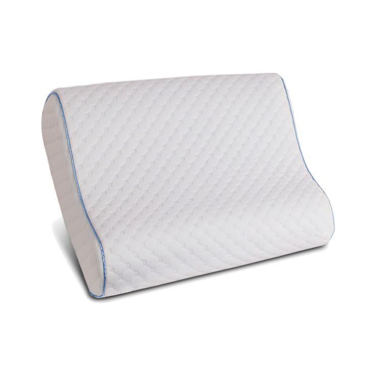 Memory Foam Contour Pillow (Standard/Queen) White - Sealy