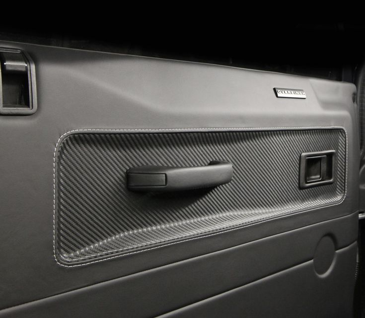 Overfinch doorcard detailing - beautiful combination of materials and craftsmanship