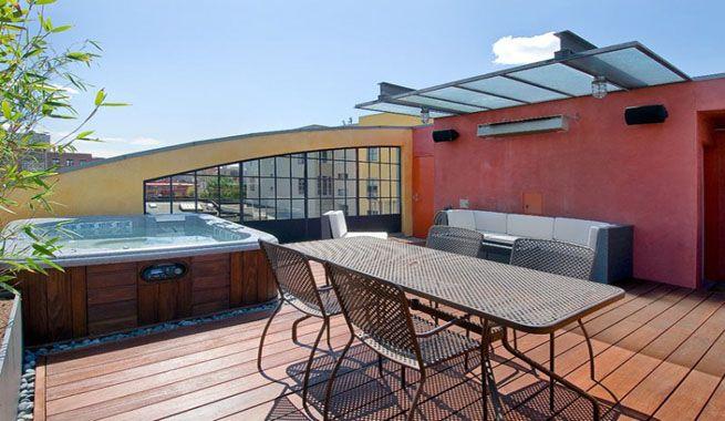 17 mejores im genes sobre terrazas muy lindas en pinterest - Jacuzzi en terraza ...