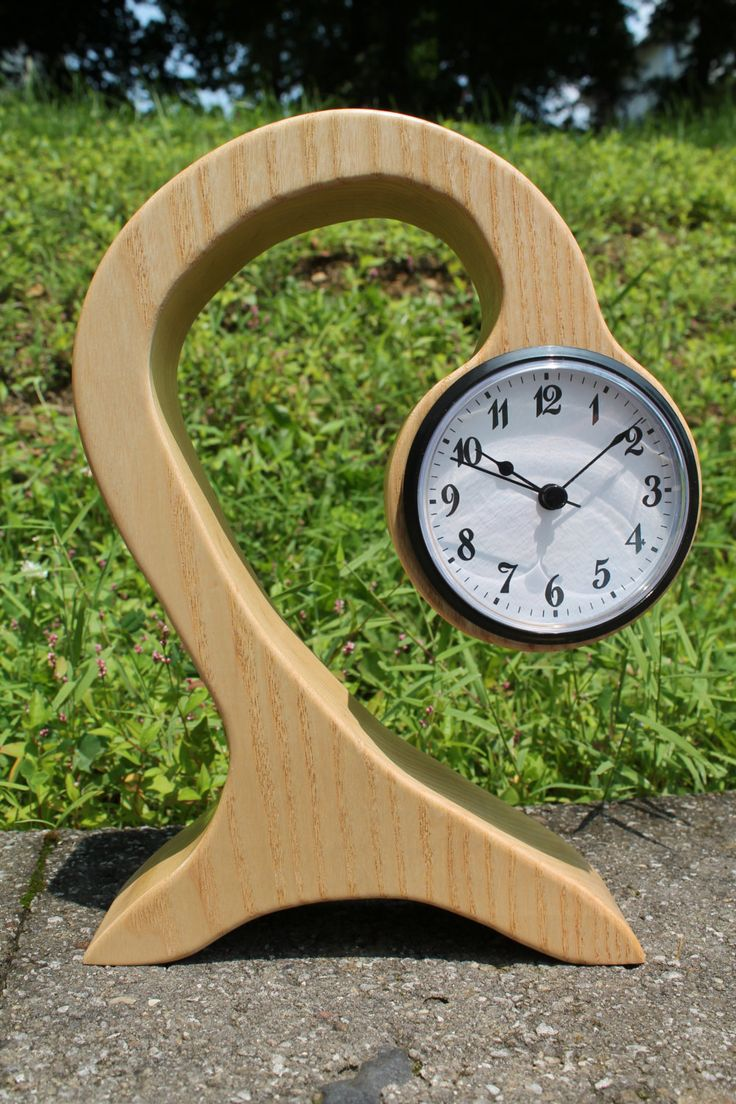 modern wooden clock/Table clock | Wooden clock, Clocks and