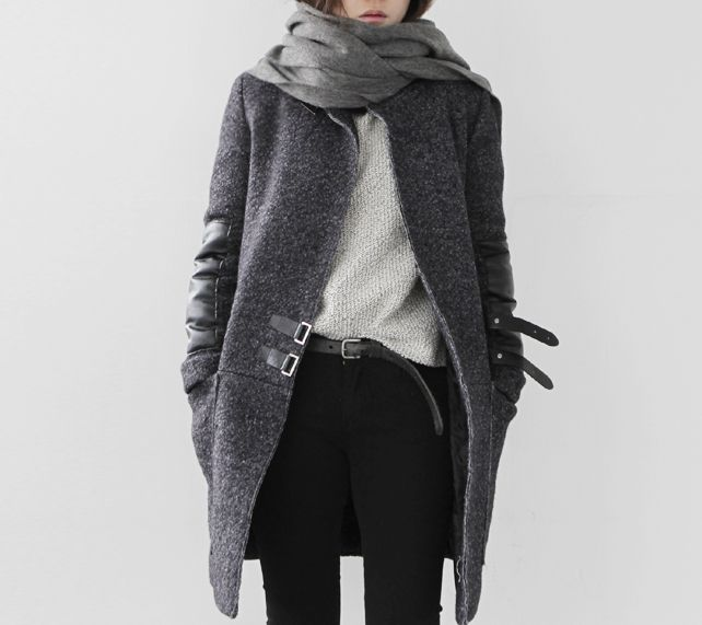 black and grey clean chic