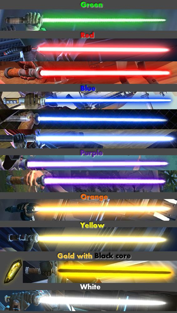 swtor guide to lightsaber crystals swtor guides