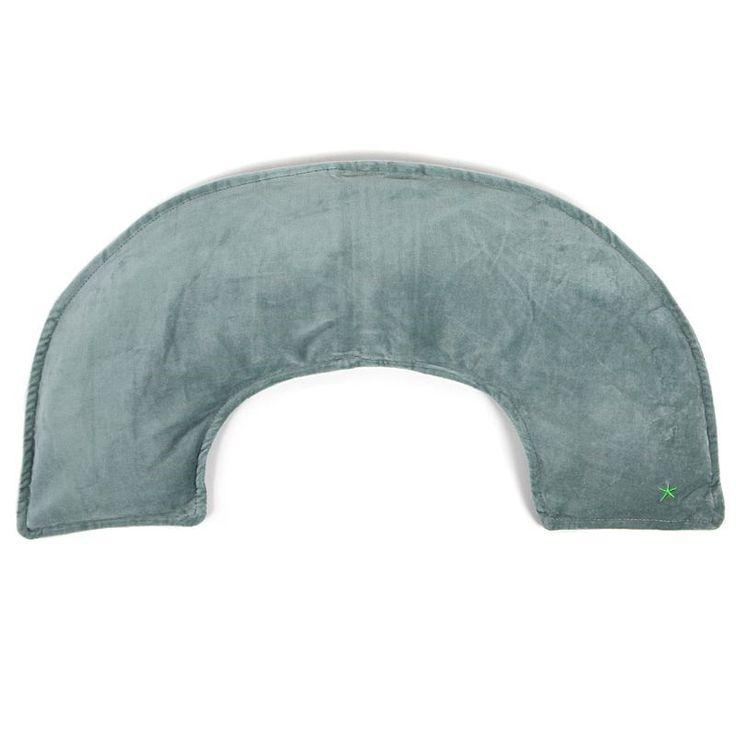 Coussin cervical chauffant vert - 29,95 €