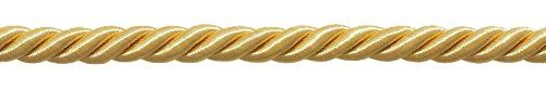 325 Yard Package of 38 LARGE LIGHT GOLD COLOR DECORATIVE CORD Basic Trim Collection Style 0038NL Color B7 98 Ft >>> Check out this great product.