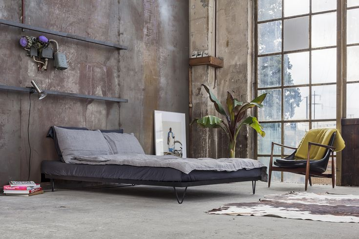 Kitanda Bettgestell  #Bed #Bett #Hairpin #Hairpinlegs #Loft