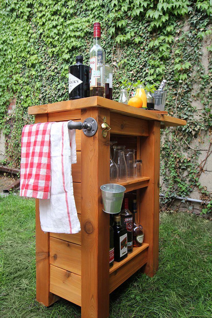 Outdoor Bar The 25 Best Diy Outdoor Bar Ideas On Pinterest Deck Decorating