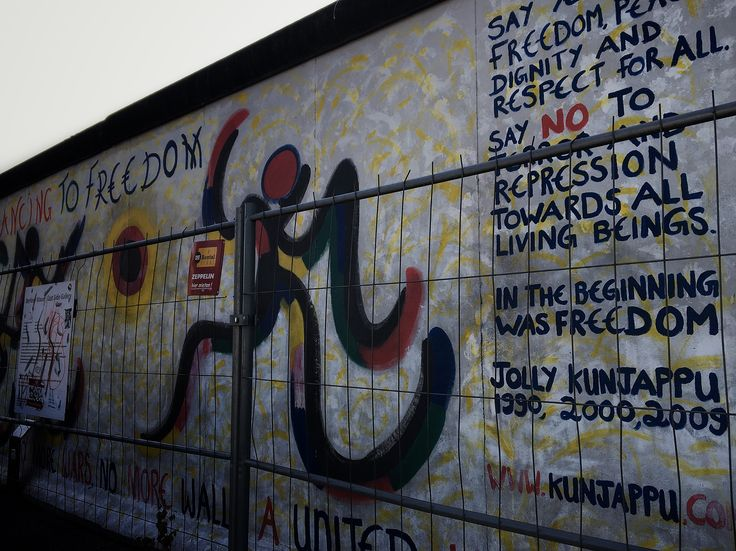 Street art #Berlin #streetart #art #history #eastsidegalery