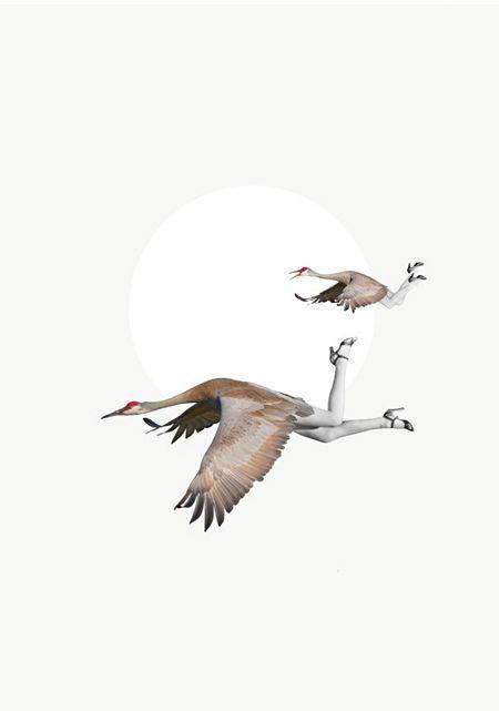 """""""The Birds Three"""" by Alexandra Ethell."""