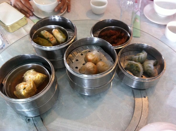 First Restaurant - dim sum!