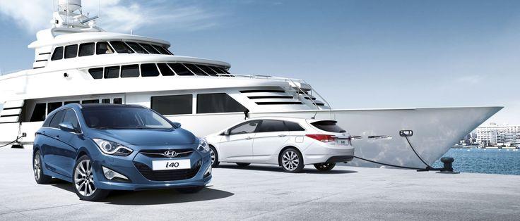 Projekt dopracowany pod każdym kątem Hyundai i40 kombi jest harmonijnym połączeniem perfekcyjnie dopracowanych elementów. Przód, tył i bok auta współgrają tworząc idealną całość.