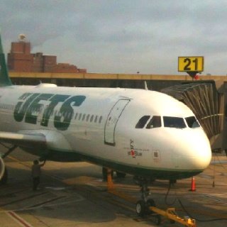 Jet Blue NY Jets aero plane