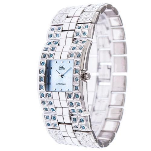 Ρολόγια : Ρολόι Q&Q Γυναικείο Silver Bracelet - QQ2001SR