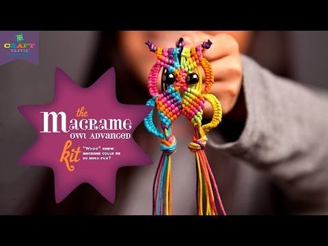 Macrame Owl Necklace Instructions And Video | The WHOot