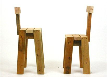 Stools 2x4 Chair Furniture Design Pinterest Chairs
