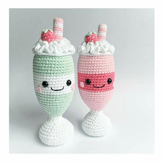 Вкусного вам дня :) Автор фото @supercutedesign - подписывайте свои фото тегом #weamiguru, лучшие попадут в нашу ленту! #amigurumi #crochet #knitting #cute #handmade #амигуруми #вязание #игрушки #интересное #ручнаяработа #toys #cute #amigurumilove #хендмейд