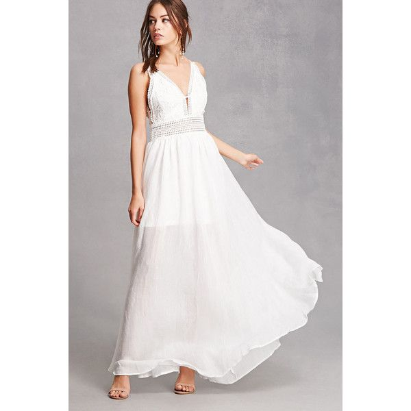 Forever 21 see through maxi dress