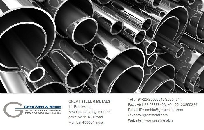 """""""#Stainlesssteelseamlesspipesstockiest (مواسير ستانلس ستيل في المخزون) and #Duplexsteelseamlesspipesstockiest (مواسير دوبلكس وسوبر سودبلكس في المخزون) #GreatSteelandMetals is among the #top10superduplexpipestockistinIndia and holds a strong position in its field.   RANGE : TUBING SIZE : 1/2″ OD TO 4″ OD (IN ALL THICKNESS) NOMINAL BORE (NB) SIZES : 1/2″NB TO 48″ NB (IN ALL THICKNESS)  QUALITY : DUPLEX & SUPER DUPLEX STEEL UNS S31803, S32205 (2205),S32750 (2507), S32760 (Z-100) S32900 (329)…"""